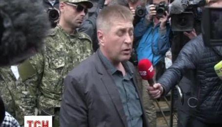 В Славянске начались переговоры по обмену пленных с ОБСЕ