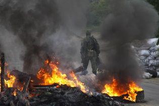 В Славянске начались бои возле телевышки