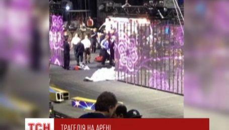 В США пострадали 9 акробатов во время выступления