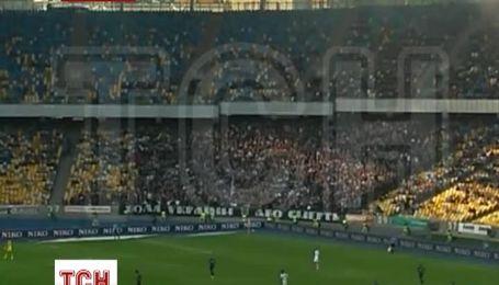 Украинские ультрас продолжают петь на стадионах хит про Путина