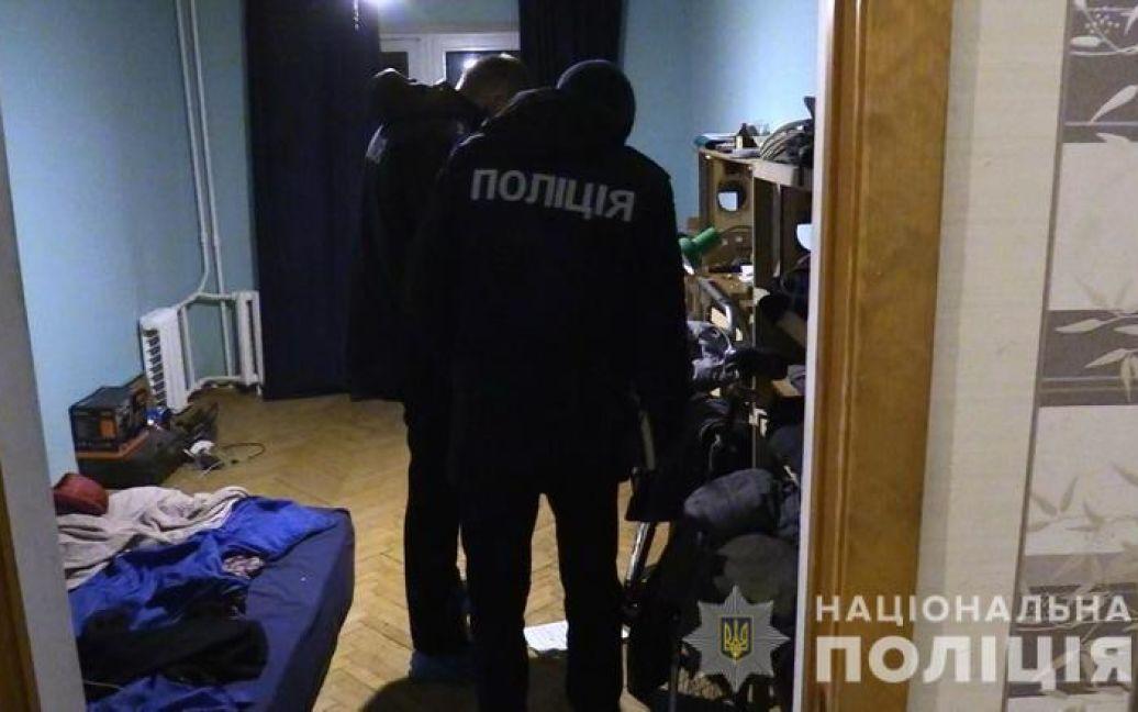 Фото з місця вбивства / © ГУ Національної поліції в Києві