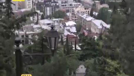 Тбілісі - пішохідний міст Миру
