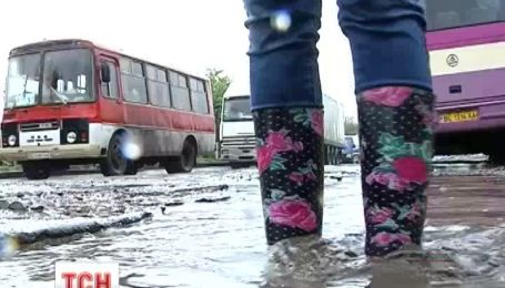 На Львовщине протестуют против бездорожья