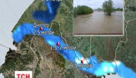 Західна Україна може опинись під водою
