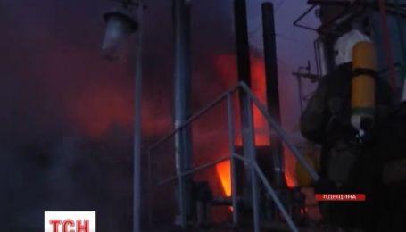 В Одесской области в огне погиб пожарный