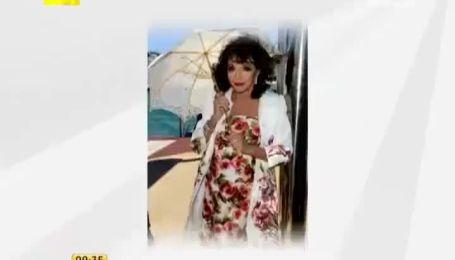 Джоан Коллинз поразила Канны своим видом