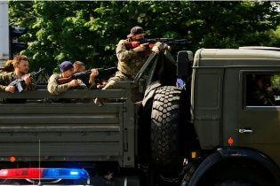 Російські бойовики, базу яких розгромили на Луганщині, переїхали в палац культури Свердловська