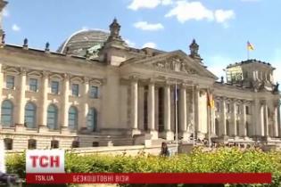 Украинцам сделают бесплатными визы в Германию