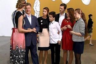 """Порошенко назвал своего старшего сына """"одним из лучших депутатов"""""""