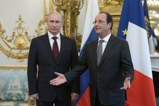 Путін та Олланд півтори години розмовляли про Україну