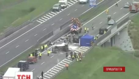 Сегодня в Польше родные начали распознавать погибших в автокатастрофе украинцев