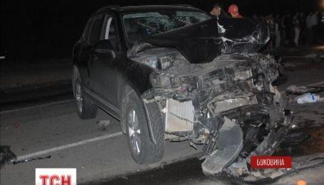 На Буковине авария унесла жизни четырех человек