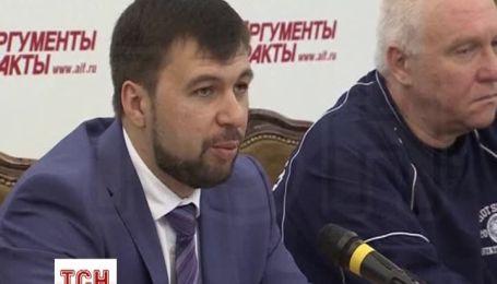 """Лідер донецьких сепаратистів визнав, що вони """"значно програють"""" військовим"""