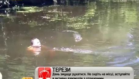 Безстрашний екскурсовод  навчився годувати диких алігаторів прямо з рота