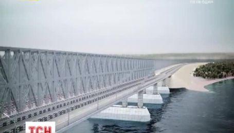 В Интернете появился ролик-презентация моста через Керченский пролив