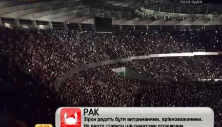 """Гурт """"Океан Ельзи"""" зібрав більше 70тисяч своїх прихильників на НСК """"Олімпійський"""""""