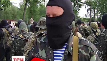 """360 бійців батальйону """"Донбас"""" присягнули на вірність України"""