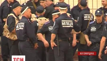 200 милиционеров Житомирщины выехали в зону АТО на Востоке страны