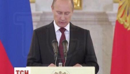 Путін вкотре дав свою оцінку подіям в Україні і пропонує план дій