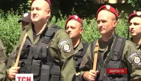 70 закарпатских правоохранителей отправились в зону АТО