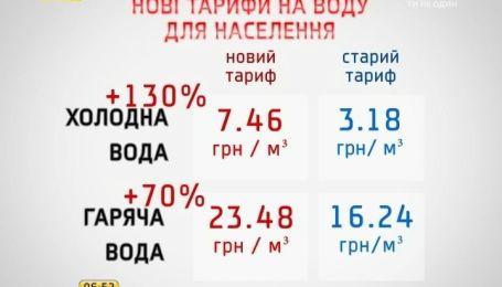 Больше всего повышение тарифов на воду ударит по кошелькам киевлян
