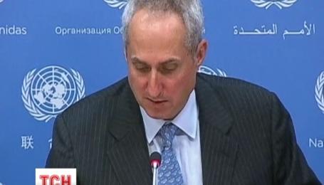 Генеральний секретар ООН рішуче засуджує дії терористів на Сході України