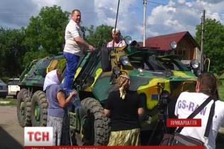Селянин із Прикарпаття подарував українській армії власний БТР