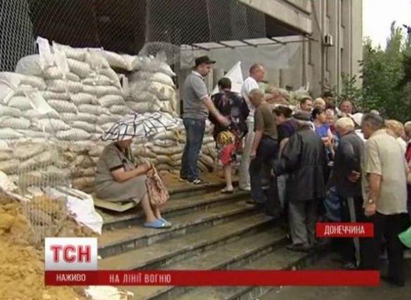 Слов'янськ після звільнення 6 липня