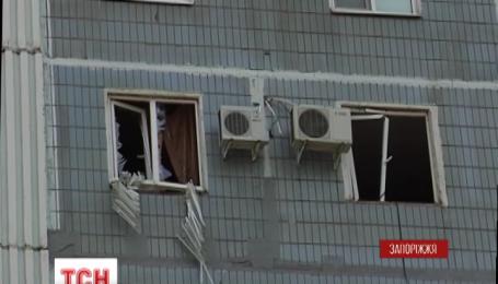 В жилом доме в Запорожье взорвались боеприпасы