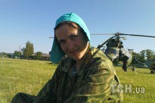 Летчица Савченко рассказала, как ее с мешком на голове вывезли на территорию России