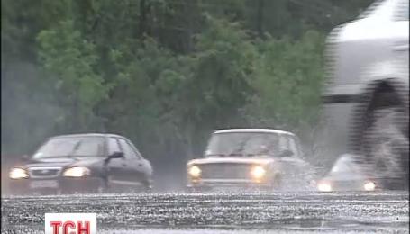 Почти по всей Украине объявлено штормовое предупреждение