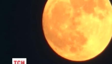 Українці побачать незвичне астрономічне явище – Супер-місяць