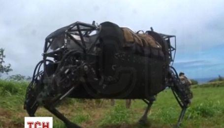 Морські піхотинці США вперше випробували роботизованого мула