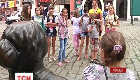 26 детей украинских военных отправили на отдых в Польшу