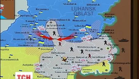 СНБО заявляет о наступлении украинских военных