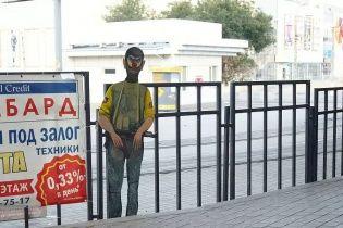 У Донецьку автора стріт-арту про терористів жорстоко катували у полоні