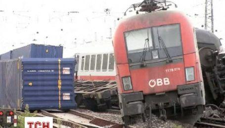 У Німеччині стикнулись пасажирський та вантажний потяги