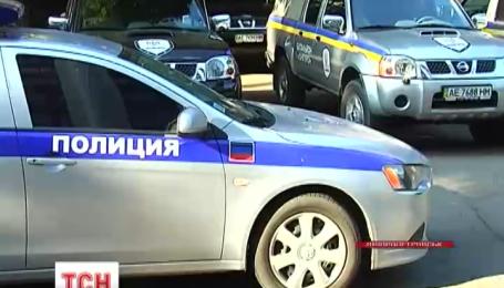 Машину поліції ДНР затримали у Донецьку бійці спецбатальйону «Дніпро»