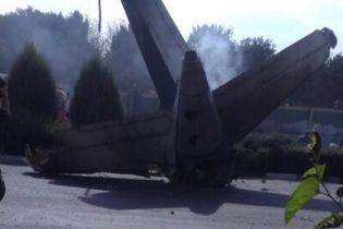 Пілот літака, який впав у Ірані, був українцем – ЗМІ