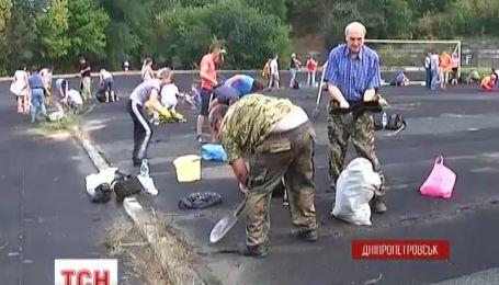 В Днепропетровске стадион превратят в вертолетную площадку