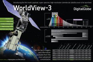 """DigitalGlobe запустит самый """"глазастый"""" коммерческий спутник WorldView-3"""