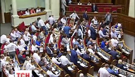 Верховна Рада ухвалила у першому читанні закон про люстрацію