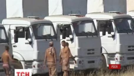 Красный Крест до сих пор не знает чем заполнены российские машины
