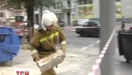 В центре Одессы обрушилась часть дома