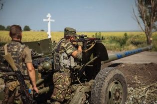 Силы АТО остановили часть колонны, которая прорвалась с территории РФ