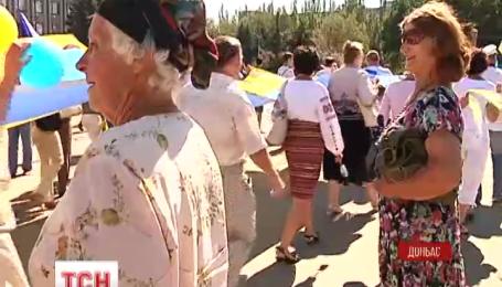 Мода на вышиванки добралась до освобожденного Славянска
