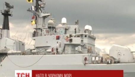 Корабли Североатлантического альянса возвращаются в Черное море
