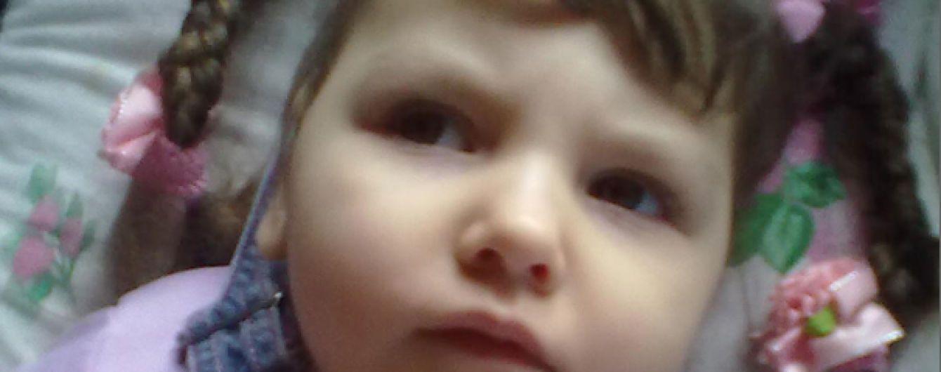 Допомоги потребує 4-річна Соломія