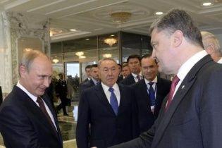 """Порошенко запропонував Путіну вийти із конфлікту, """"зберігши обличчя"""""""