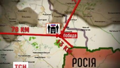 Російський штаб на українській території